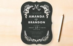 2013 trend predictions: lettering & chalkboards {stationery}