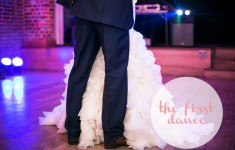 Making the most of your first dance!