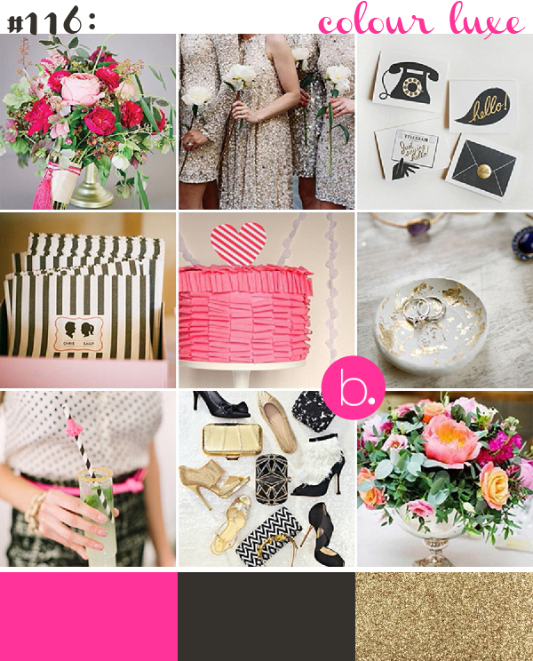 bloved-uk-wedding-blog-inspiration-colour-luxe-pink-black-gold