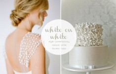 white wedding inspiration