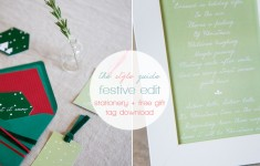 bloved-uk-wedding-blog-the-style-guide-festive-red-green-stationery-anneli-marinovich-photography-ftd