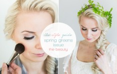 bloved-uk-wedding-blog-spring-green-style-guide-makeup-tutorial-anneli-marinovich-ftd