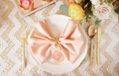 Paperknots Coral Gold Florence Wedding Stationery (4)